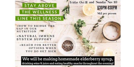 Stay Above the Wellness Line Nov 10