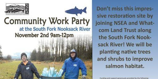 South Fork Nooksack River Work Party
