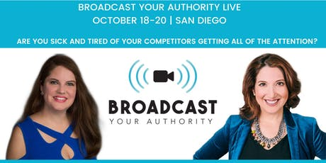 Broadcast Your Authority tickets