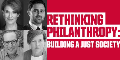 Rethinking Philanthropy: Building a Just Society tickets