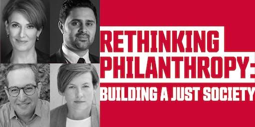 Rethinking Philanthropy: Building a Just Society