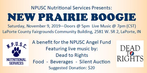 New Prairie Boogie - Benefit for the NPUSC Angel Fund