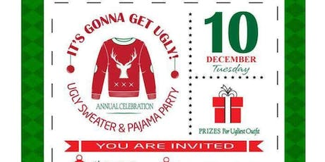 It's gonna get ugly-Ugly Sweater and Pajama Party tickets