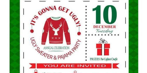 It's gonna get ugly-Ugly Sweater and Pajama Party