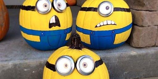 Make Your Own Minion Pumpkin!