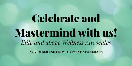 Celebrate and mastermind with us!