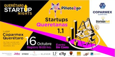 Querétaro Startup Nights 3a. Edición / Startups Qu entradas