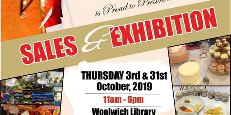 BFEG BLACK HISTORY MONTH SALES AND EXHIBITION tickets