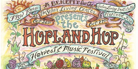 Hopland Hop, Harvest & Music Festival - Hot Buttered Rum, PoorMan's Whiskey tickets