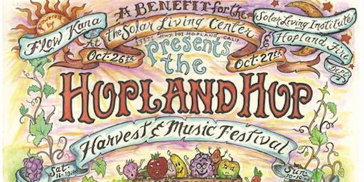 Hopland Hop, Harvest & Music Festival - 17 Bands - Cooking Competition