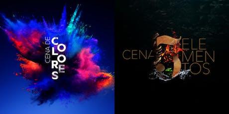 CENA DE COLORES | CENA DE 5 ELEMENTOS boletos