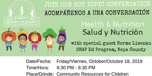 HOT TOPIC Conversation Health & Nutrition - Best Practices