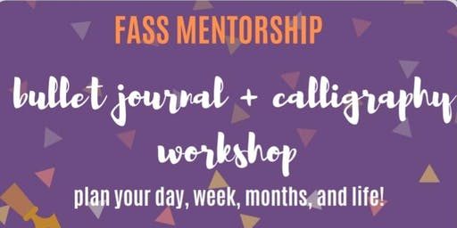 FASS Bullet Journal and Calligraphy Workshop