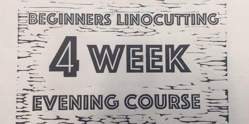 Beginners linocut - 4 week evening course