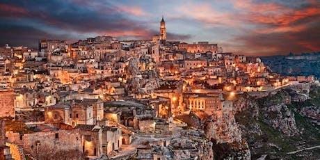 An evening in Matera tickets