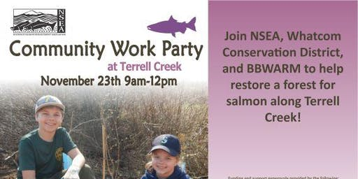 Terrell Creek Work Party