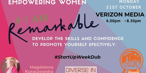 #IamRemarkable Empowering Women Workshop