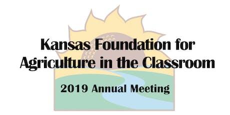2019 KFAC Annual Meeting tickets