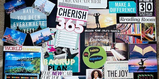 Manifest Your Dreams into reality Vision Board Brunch