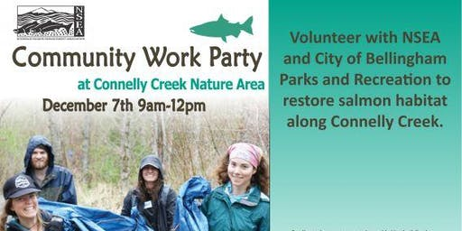 Connelly Creek Nature Area Work Party