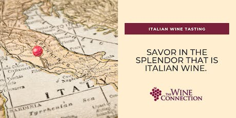 Taste Incredible Wines From Italy  - Charcuterie Included tickets