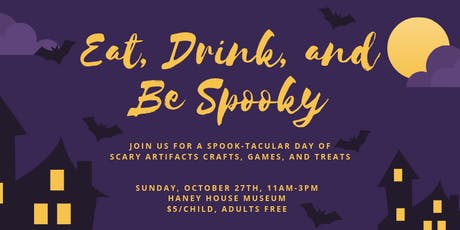 Eat, Drink, and Be Spooky tickets