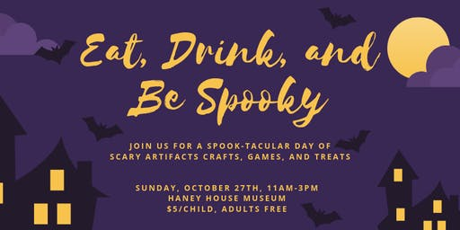 Eat, Drink, and Be Spooky