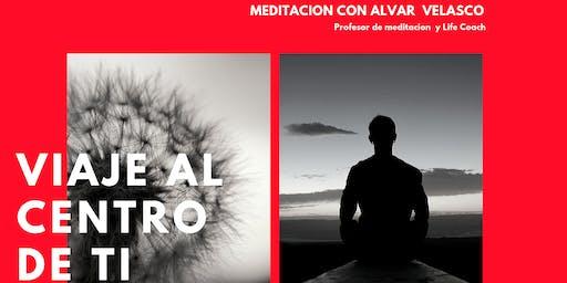 Viaje al Centro de Ti. Taller de Meditación.