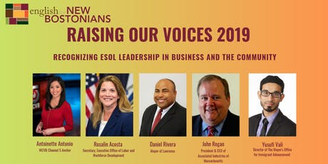 Raising Our Voices 2019 Breakfast tickets