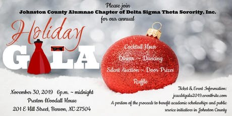 Johnston County Alumnae Chapter Presents Holiday Gala 2019 tickets