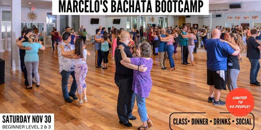 NOVEMBER BACHATA BOOTCAMP - Beginner Levels II & III