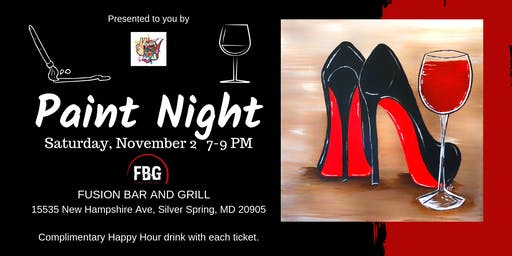 Red Bottoms Paint Night
