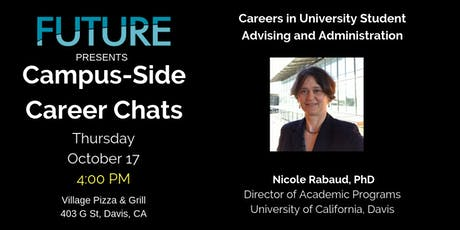 FUTURE Campus-Side Career Chats: Nicole Rabaud, Ph.D. tickets