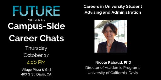 FUTURE Campus-Side Career Chats: Nicole Rabaud, Ph.D.