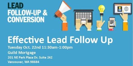 Effective Lead Follow Up - Lunch 'n' Learn