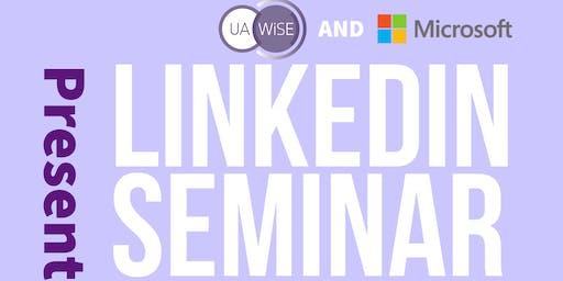 LinkedIn Seminar – UA-WiSE X Microsoft