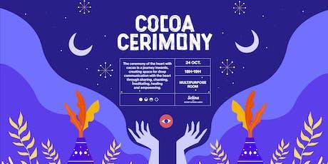 Cocoa Ceremony bilhetes