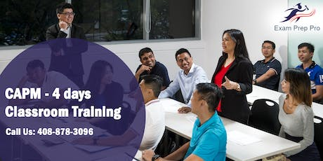 CAPM - 4 days Classroom Training  in Des Moines, IA tickets