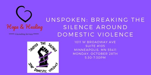 Unspoken: Breaking The Silence Around Domestic Violence