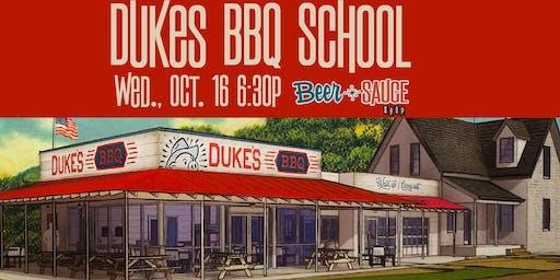 Duke's BBQ School