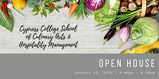 Open House Cypress College School of Culinary Arts & Hospitality Management