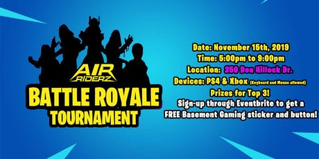 BATTLE ROYALE - Air Riderz (Aurora) tickets