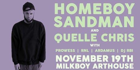 Homeboy Sandman & Quelle Chris tickets