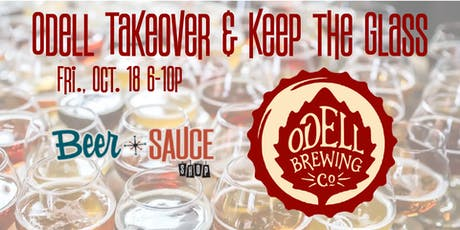 Odell Brewing Craft Beer Tasting and Tap Takeover tickets