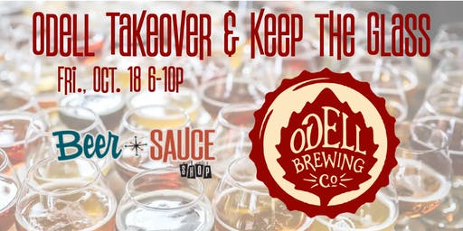 Odell Brewing Craft Beer Tasting and Tap Takeover