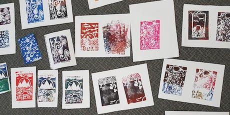 'Tis the Season Relief/ Block Printing Workshop tickets