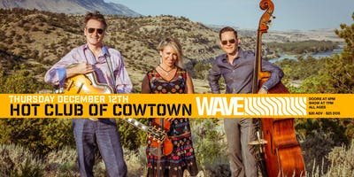 Hot Club of Cowtown live at WAVE