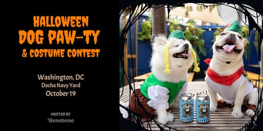 Halloween Dog Paw-ty & Costume Contest with Benebone
