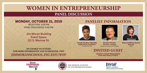 Women in Entrepreneurship: Panel Discussion