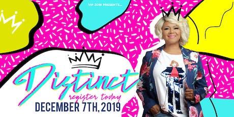 VIP 2019: DISTINCT tickets